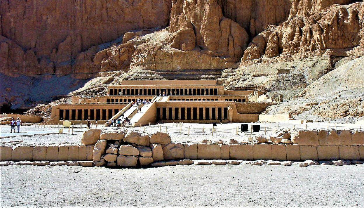 Tempels-Luxor-Egypte
