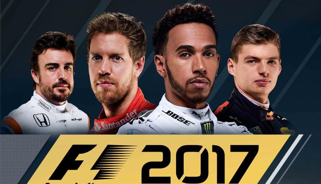 F1 2017 hoesje