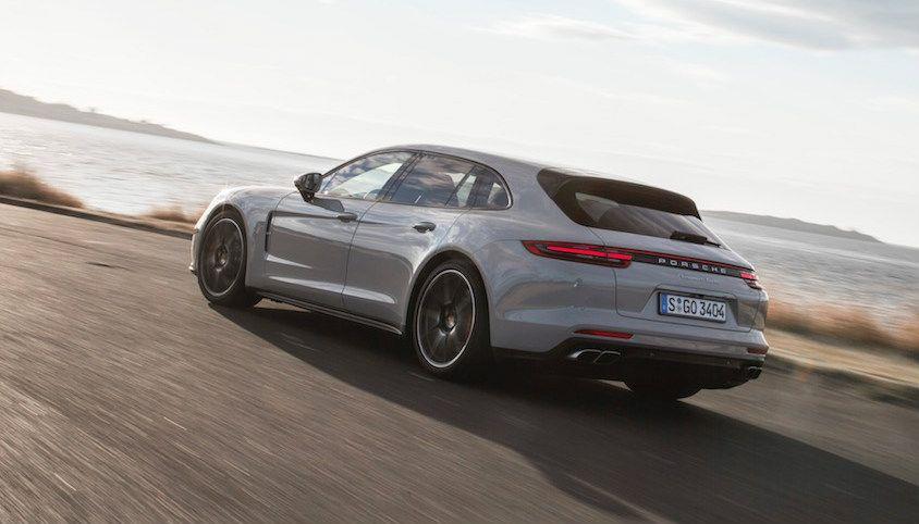 Sportief en gemakkelijk: Porsche Panamera Sport Turismo