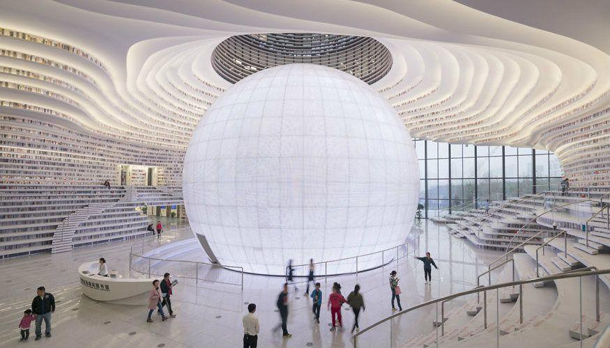 tianjin-binhai-bibliotheek-china