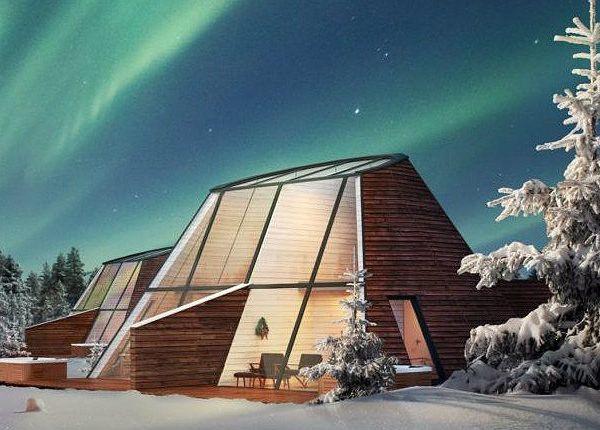 Finland-wintersport-noorderlicht