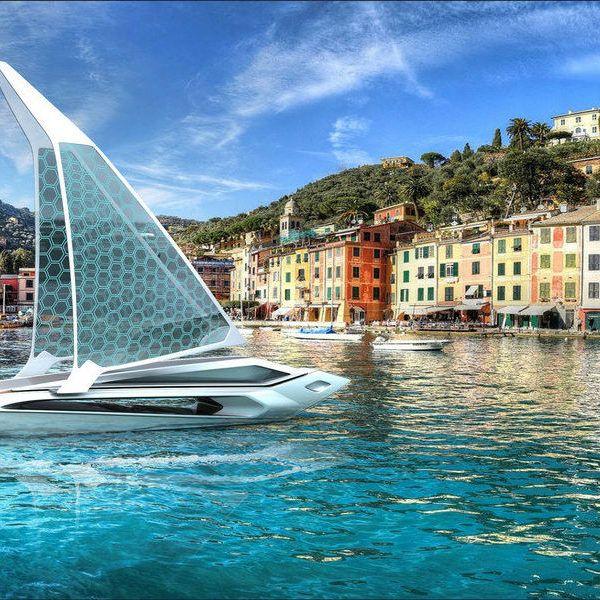 zeilboot-zonnecellen
