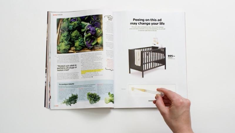 Opmerkelijke advertentie: Afzeiken Ikea