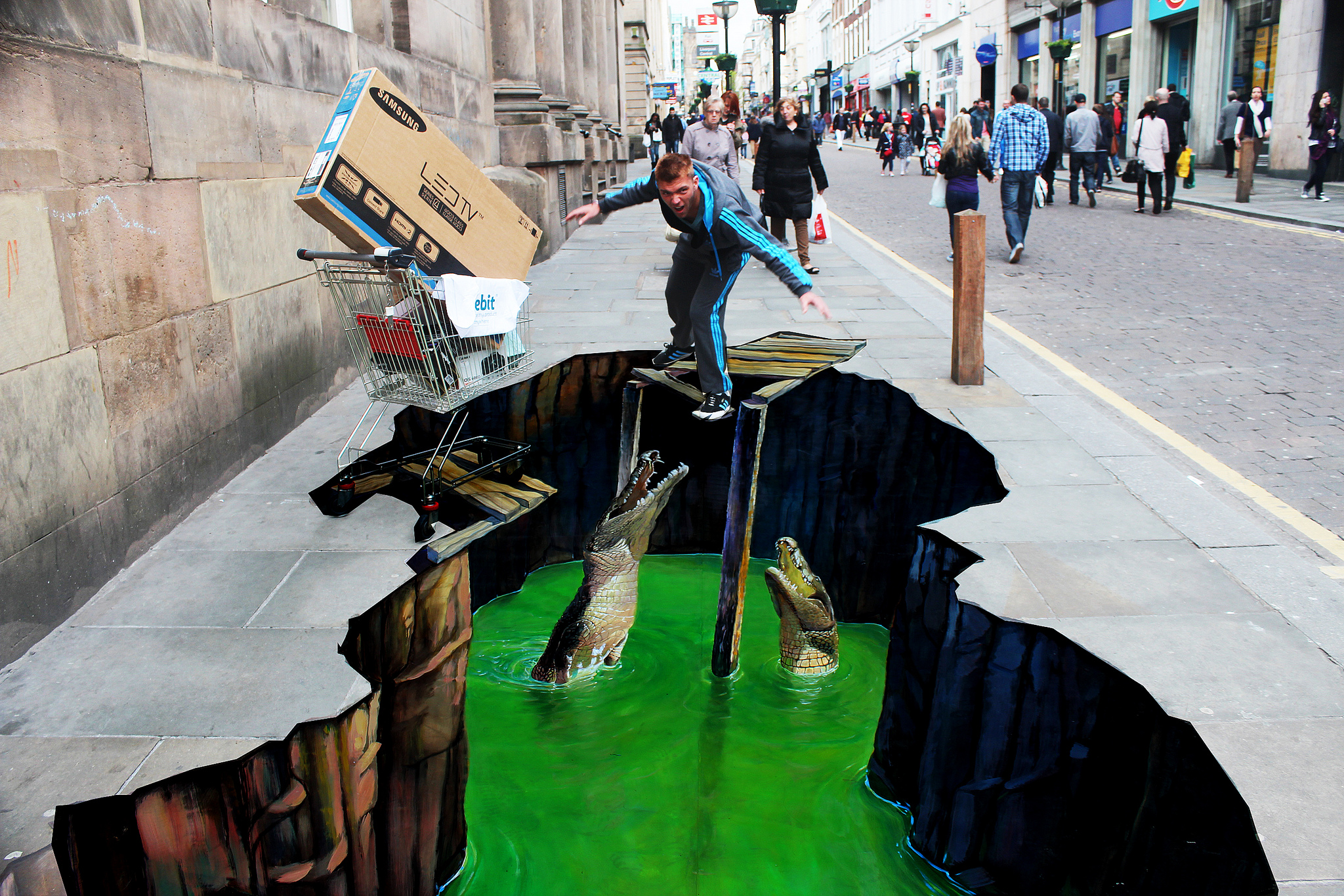 Zwolle werkt aan de weg als 3D-kunststad