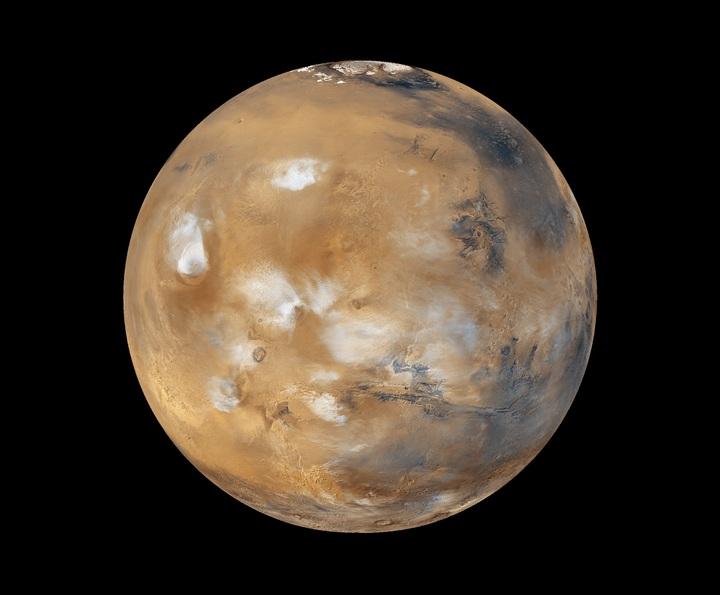 Mars was wellicht tóch bewoond