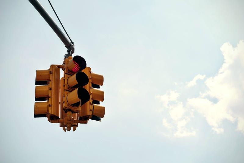 Door het rode licht? Dan geen ondernemer!